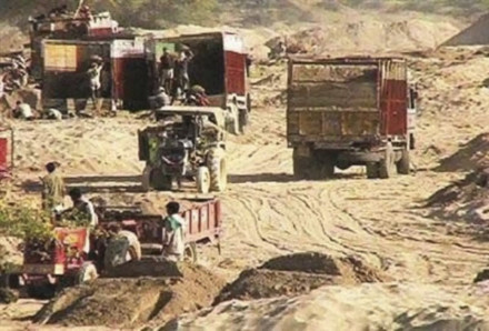 Sand mining in India is a lucrative industry that has become exploited by organized crime